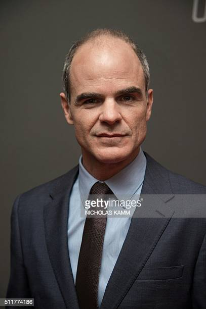 Actor Michael Kelly arrives at the season 4 premiere screening of the Netflix show 'House of Cards' in Washington DC on February 22 2016 / AFP /...