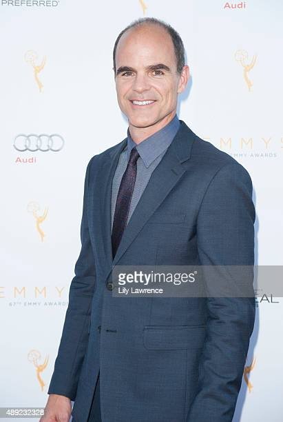 Actor Michael Kelly arrives at the Television Academy Celebrates The 67th Emmy Award Nominees for Outstanding Performances at Montage Beverly Hills...