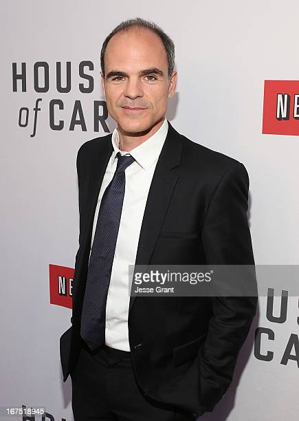 Actor Michael Kelly attends Netflix's 'House of Cards' For Your Consideration QA on April 25 2013 at the Leonard H Goldenson Theatre in North...