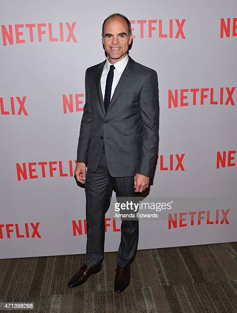 Actor Michael Kelly attends Netflix's 'House Of Cards' QA screening event at the Samuel Goldwyn Theater on April 27 2015 in Beverly Hills California