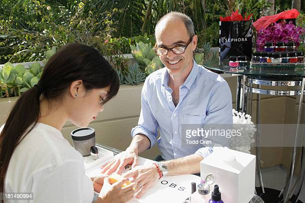 Actor Michael Kelly attends the HBO Luxury Lounge featuring Motorola and PANDORA Jewelry in honor of The 65th Primetime Emmy Awards at The Four...
