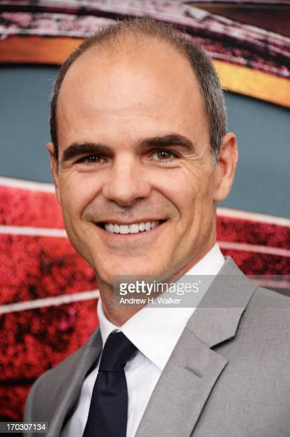 Actor Michael Kelly attends the 'Man Of Steel' world premiere at Alice Tully Hall at Lincoln Center on June 10 2013 in New York City