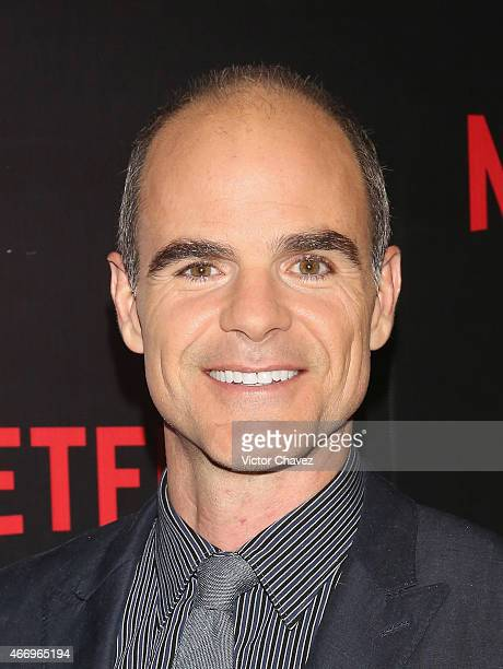 Actor Michael Kelly attends the NetFlix Award 2015 at Museo Jumex on March 19 2015 in Mexico City Mexico