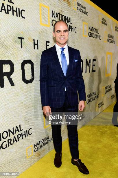 Actor Michael Kelly attends the premiere of National Geographic's 'The Long Road Home' at Royce Hall on October 30 2017 in Los Angeles California