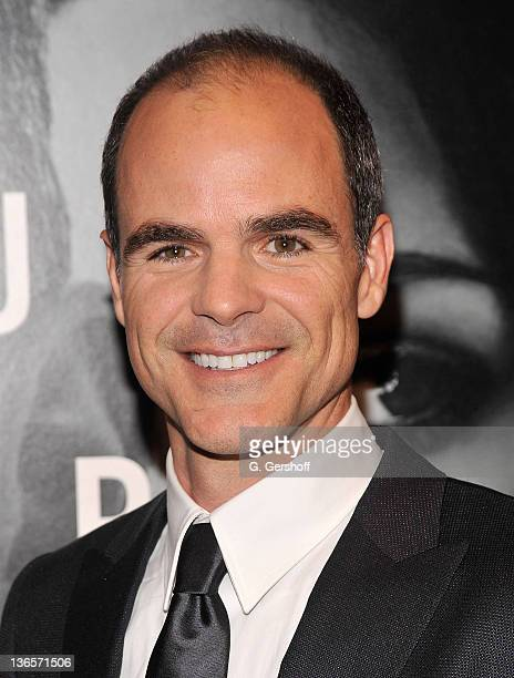 Actor Michael Kelly attends the premiere of 'The Adjustment Bureau' at the Ziegfeld Theatre on February 14 2011 in New York City