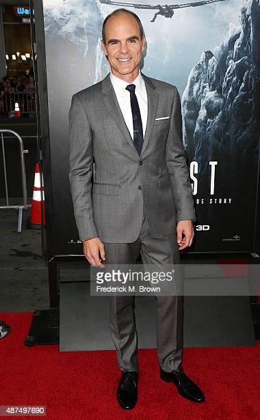 Actor Michael Kelly attends the Premiere of Universal Pictures' 'Everest' at the TCL Chinese 6 Theatre on September 9 2015 in Hollywood California