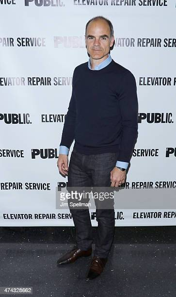 Actor Michael Kelly attends The Public Theater's opening night celebration of 'The Sound And The Fury' and 'MacBeth' at The Public Theater on May 21...
