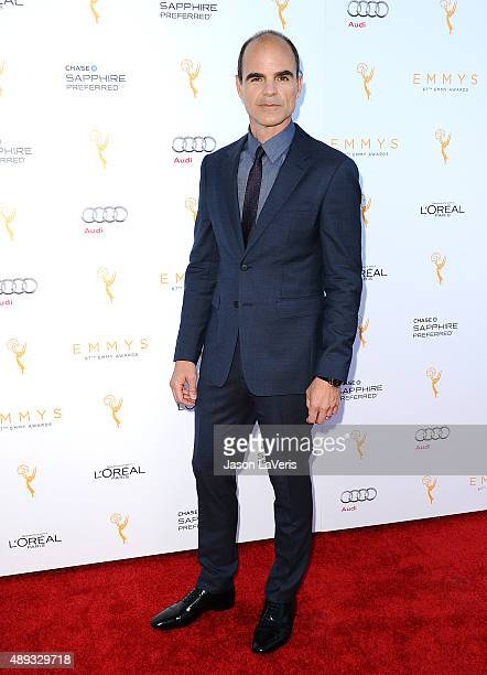 Actor Michael Kelly attends the Television Academy's celebration for the 67th Emmy Award nominees for outstanding performances at Pacific Design...