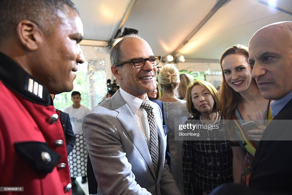 Actor <a gi-track='captionPersonalityLinkClicked' href=/galleries/search?phrase=Michael+Kelly+-+Actor&family=editorial&specificpeople=4604075 ng-click='$event.stopPropagation()'>Michael Kelly</a>, center, attends the 23rd Annual White House Correspondents' Garden Brunch in Washington, D.C., U.S., on Saturday, April 30, 2016. The event will raise awareness for Halcyon Incubator, an organization that supports early stage social entrepreneurs 'seeking to change the world' through an immersive 18-month fellowship program. Photographer: David Paul Morris/Bloomberg via Getty Images