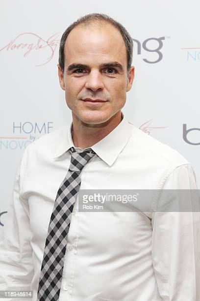 Actor Michael Kelly of 'Criminal Minds' attends the premiere party for the new HGTV show 'Home By Novogratz' at the Crosby Street Hotel on July 12...