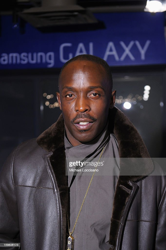 Actor Michael Kenneth Williams attends Day 3 of Samsung Galaxy Lounge at Village At The Lift 2013 on January 20, 2013 in Park City, Utah.