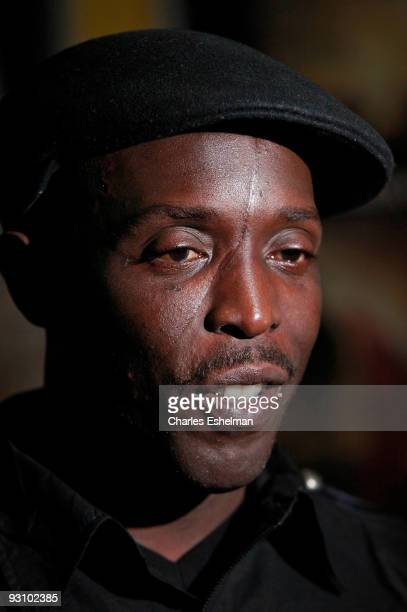 Actor Michael Kenneth Williams attends the premiere of 'The Road' at the Clearview Chelsea Cinemas on November 16 2009 in New York City