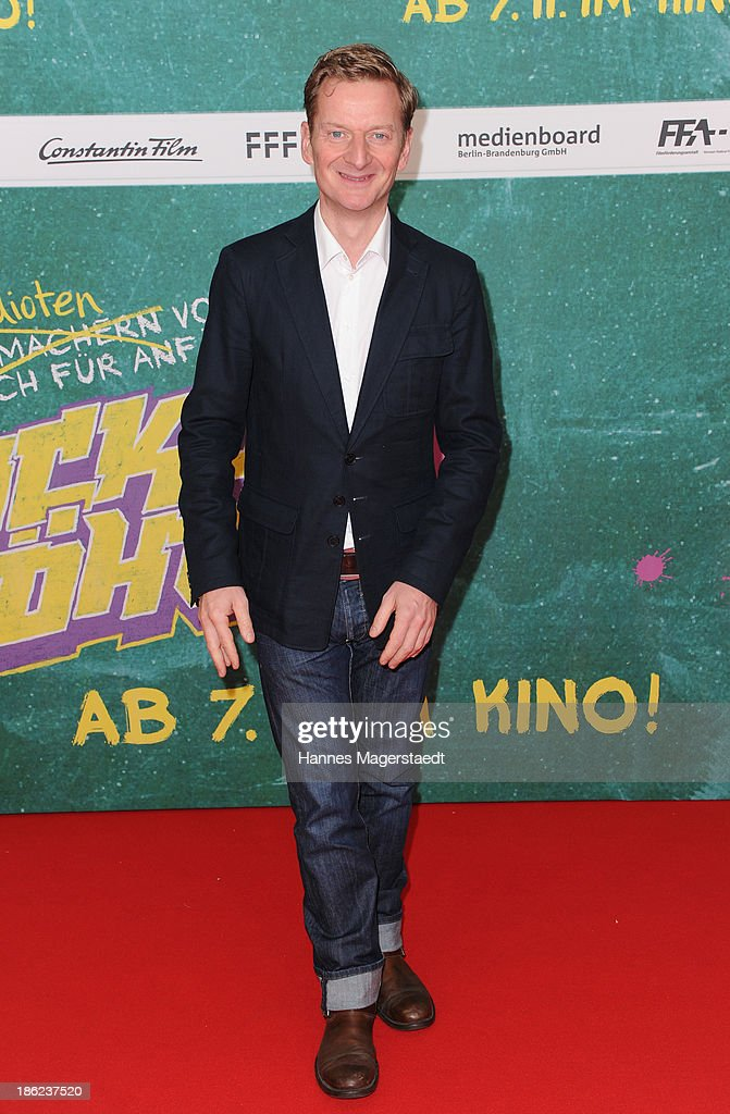 Actor Michael Kessler attends the premiere of the film 'Fack Ju Goehte' on October 29, 2013 in Munich, Germany.
