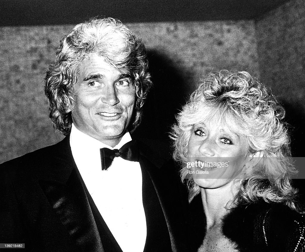 Actor <a gi-track='captionPersonalityLinkClicked' href=/galleries/search?phrase=Michael+Landon&family=editorial&specificpeople=228407 ng-click='$event.stopPropagation()'>Michael Landon</a> and wife Cindy Landon sighted on December 1, 1983 at Spago Restaurant in West Hollywood, California.