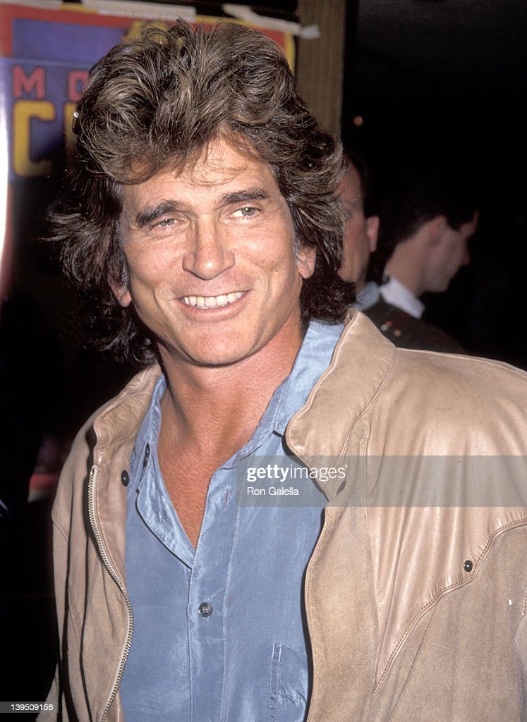 Actor <a gi-track='captionPersonalityLinkClicked' href=/galleries/search?phrase=Michael+Landon&family=editorial&specificpeople=228407 ng-click='$event.stopPropagation()'>Michael Landon</a> attends the Moscow Circus Opening Night Performance on March 6, 1991 at the Great Western Forum in Inglewood, California.