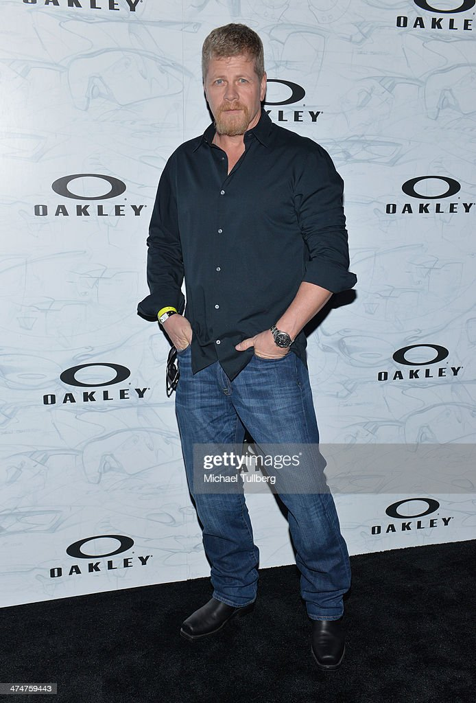 Actor Michael Ludlitz attends the Oakley's Disruptive By Design Launch Event at Red Studios on February 24, 2014 in Los Angeles, California.
