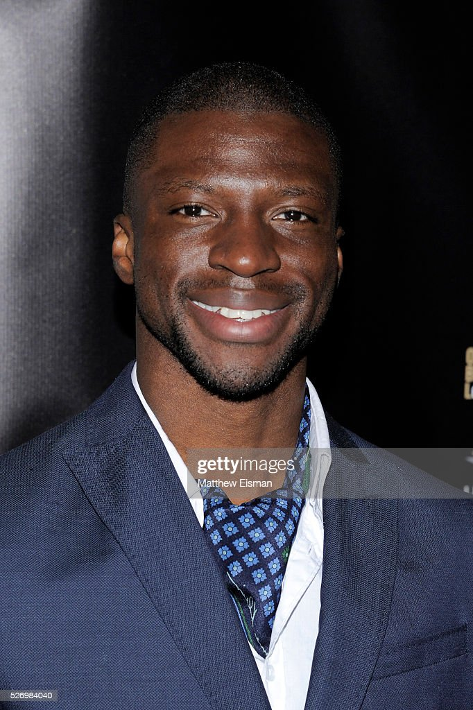 Actor Michael Luwoye arrives at the 31st Annual Lucille Lortel Awards at NYU Skirball Center on May 1, 2016 in New York City.
