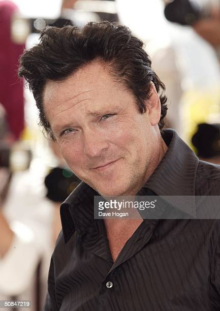 Actor Michael Madsen attends a photocall for the movie 'Kill Bill 2' at the 57th Annual Cannes Film Festival on May 16 2004 in Cannes France