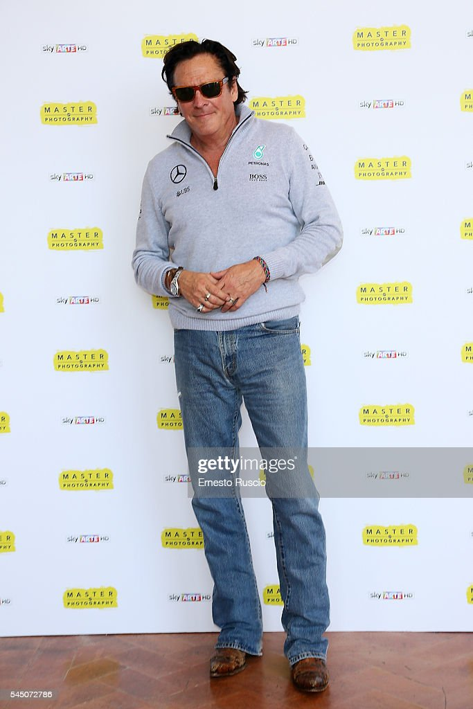 Actor Michael Madsen attends the 'Master Of Photography' press conference at Villa Medici on July 5, 2016 in Rome, Italy.