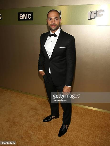 Actor Michael Mando attends AMC Networks Emmy Party at BOA Steakhouse on September 18 2016 in West Hollywood California