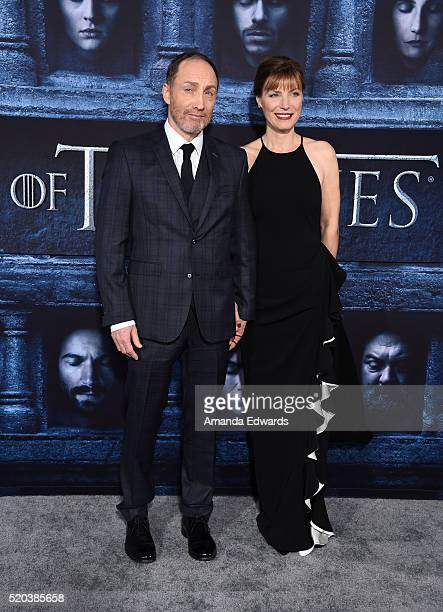 Actor Michael McElhatton arrives at the premiere of HBO's 'Game Of Thrones' Season 6 at the TCL Chinese Theatre on April 10 2016 in Hollywood...