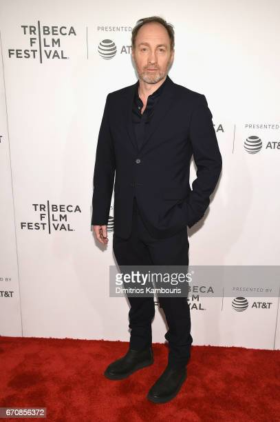 Actor Michael McElhatton attends the 'Genius' Premiere during the 2017 Tribeca Film Festival at BMCC Tribeca PAC on April 20 2017 in New York City