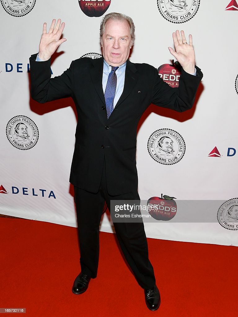Actor <a gi-track='captionPersonalityLinkClicked' href=/galleries/search?phrase=Michael+McKean&family=editorial&specificpeople=206330 ng-click='$event.stopPropagation()'>Michael McKean</a> attends The Friars Club Roast Honors Jack Black at New York Hilton and Towers on April 5, 2013 in New York City.