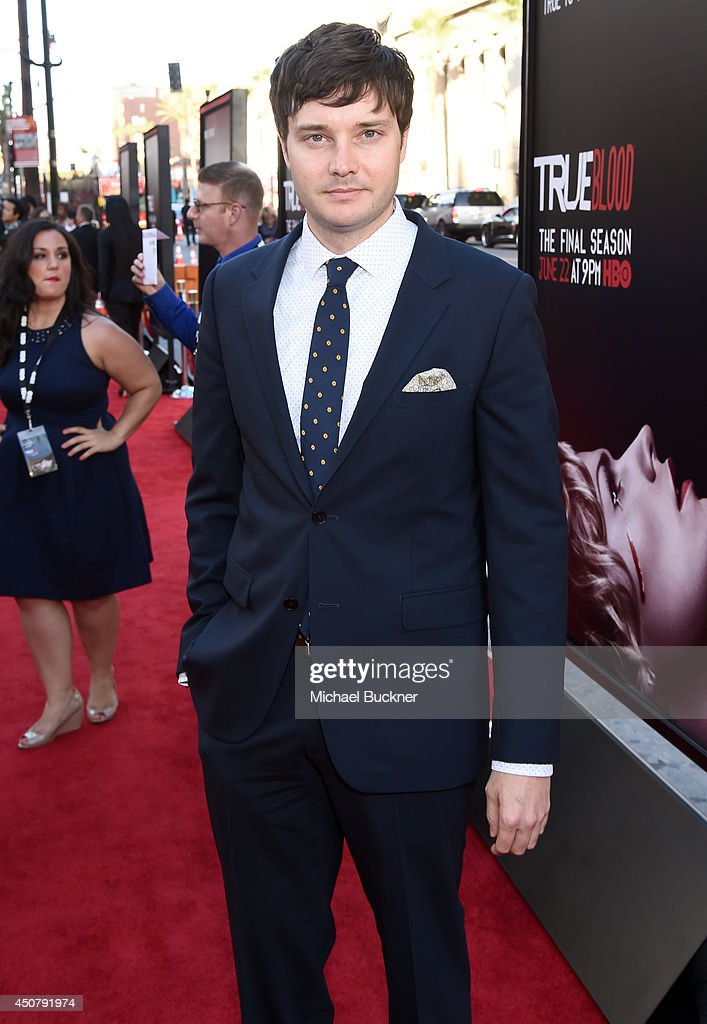 Actor <a gi-track='captionPersonalityLinkClicked' href=/galleries/search?phrase=Michael+McMillian&family=editorial&specificpeople=4194179 ng-click='$event.stopPropagation()'>Michael McMillian</a> attends Premiere Of HBO's 'True Blood' Season 7 And Final Season at TCL Chinese Theatre on June 17, 2014 in Hollywood, California.
