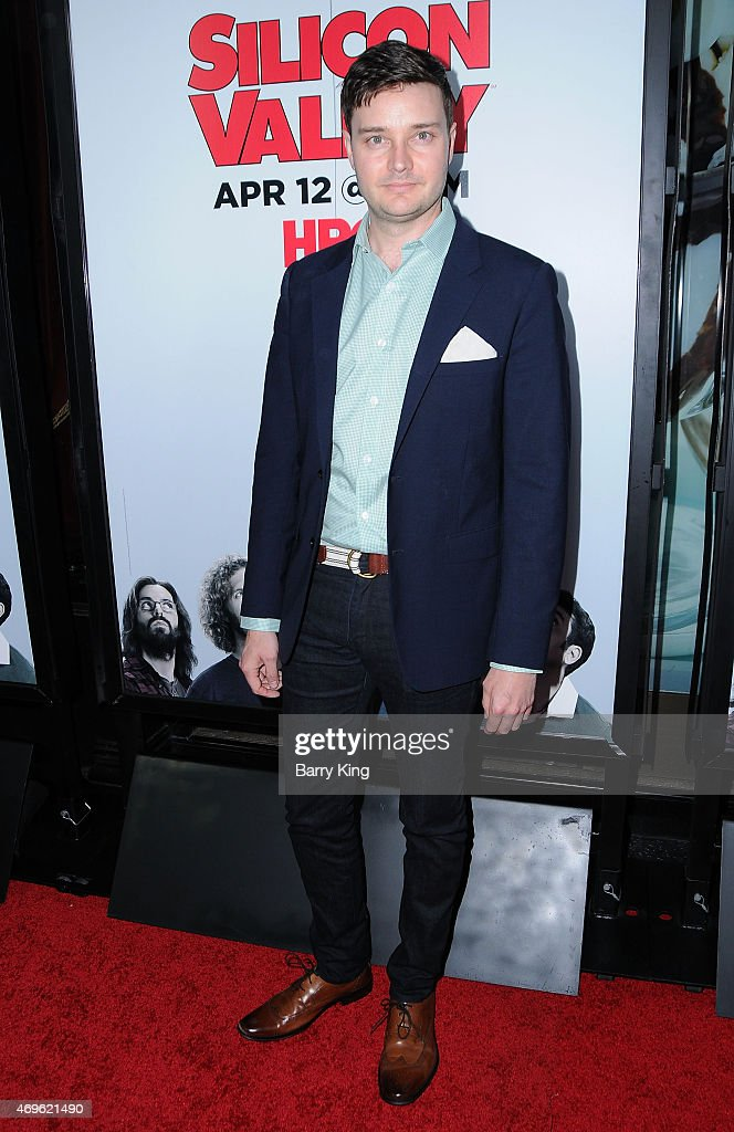 Actor Michael McMillian attends the HBO 'Silicon Valley' season 2 premiere at the El Capitan Theatre on April 2, 2015 in Hollywood, California.