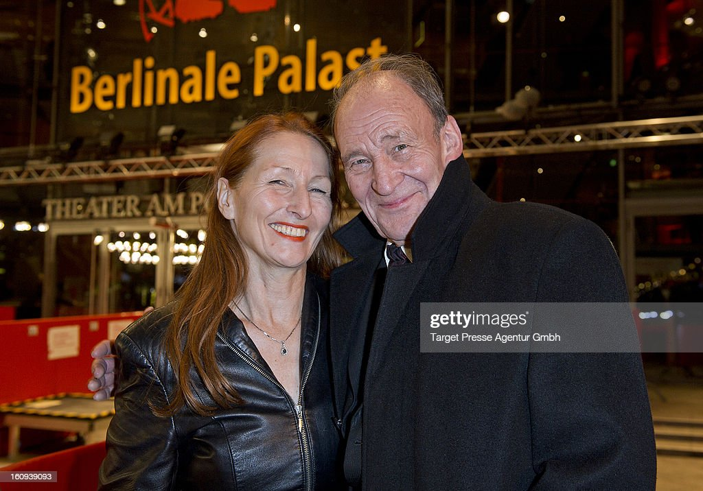 Actor Michael Mendl and Birgitt Wolff attend the premiere of 'The Grandmaster' during the 63rd Berlinale International Film Festival at the Berlinale...
