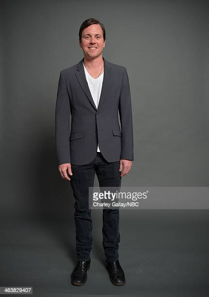 Actor Michael Mosley attends the 2014 NBCUniversal TCA Winter Press Tour Portraits at Langham Hotel on January 19 2014 in Pasadena California