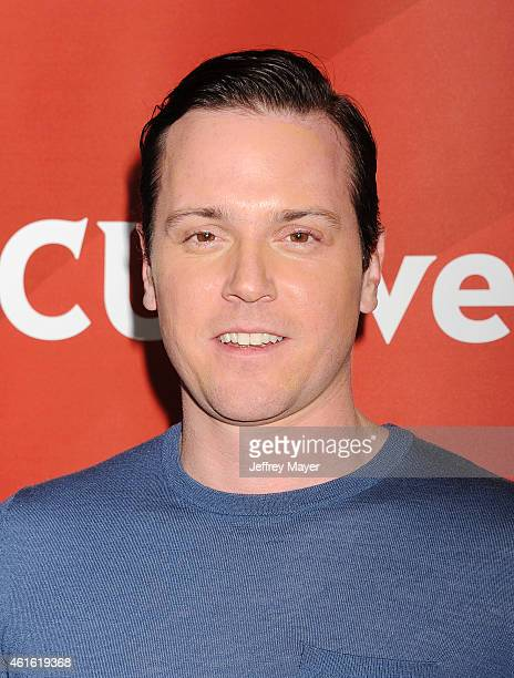 Actor Michael Mosley attends the NBCUniversal 2015 Press Tour at the Langham Huntington Hotel on January 15 2015 in Pasadena California