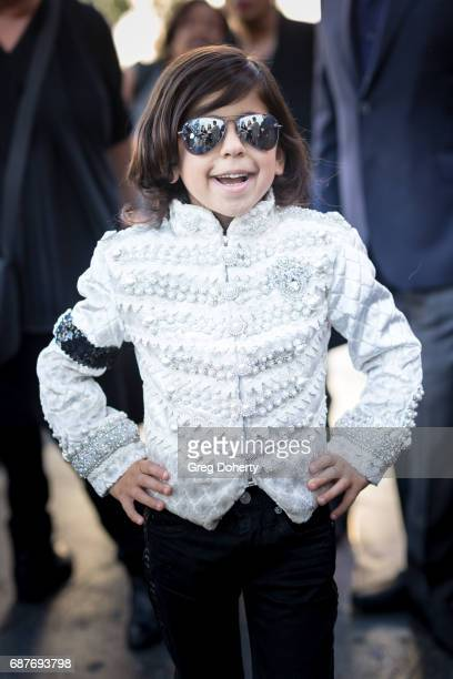 Actor Michael Mourra arrives at the Lifetime Hosts Fan Gala And Advance Screening For 'Michael Jackson Searching For Neverland' at Avalon on May 23...