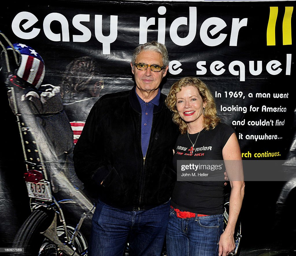 Actor <a gi-track='captionPersonalityLinkClicked' href=/galleries/search?phrase=Michael+Nouri&family=editorial&specificpeople=234358 ng-click='$event.stopPropagation()'>Michael Nouri</a> and actress/producer <a gi-track='captionPersonalityLinkClicked' href=/galleries/search?phrase=Sheree+J.+Wilson&family=editorial&specificpeople=799239 ng-click='$event.stopPropagation()'>Sheree J. Wilson</a> attend the premiere of 'Easy Rider The Ride Back' Ride-In at Bartels' Harley-Davidson on September 17, 2013 in Marina del Rey, California.