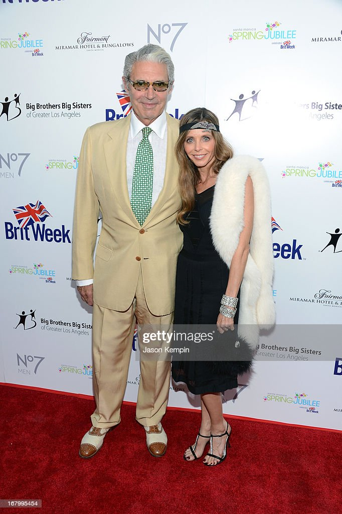 Actor <a gi-track='captionPersonalityLinkClicked' href=/galleries/search?phrase=Michael+Nouri&family=editorial&specificpeople=234358 ng-click='$event.stopPropagation()'>Michael Nouri</a> (L) and Kathy Fischer attend BritWeek Celebrates Downton Abbey at The Fairmont Miramar Hotel on May 3, 2013 in Santa Monica, California.