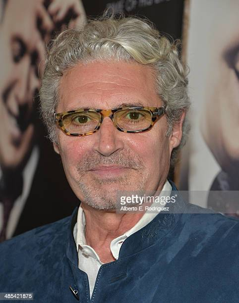 Actor Michael Nouri arrives to an exclusive presentation of HBO's 'Billy Crystal 700 Sundays' at Ray Kurtzman Theater on April 17 2014 in Los Angeles...