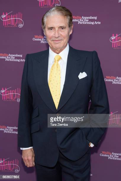 Actor Michael Nouri arrives to Mancini Delivered A Musical Tribute To Ginny And Henry Mancini at Wallis Annenberg Center for the Performing Arts on...
