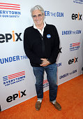 Actor Michael Nouri attends the 'Under The Gun' LA premiere featuring Katie Couric and Stephanie Soechtig at Samuel Goldwyn Theater on May 3 2016 in...