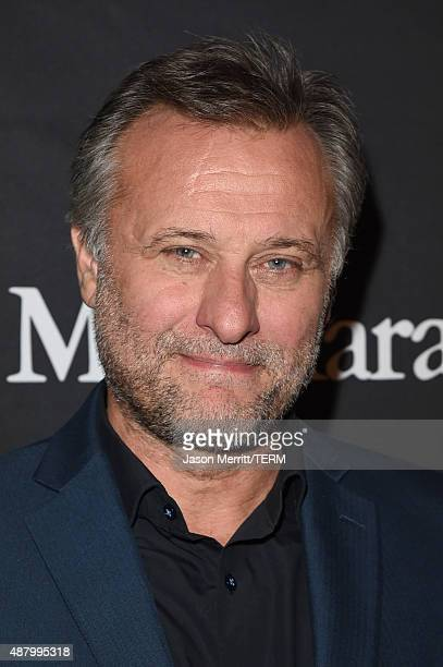 Actor Michael Nyqvist attends the InStyle HFPA party during the 2015 Toronto International Film Festival at the Windsor Arms Hotel on September 12...