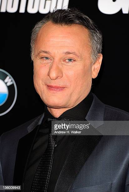 Actor Michael Nyqvist attends the 'Mission Impossible Ghost Protocol' US premiere at the Ziegfeld Theatre on December 19 2011 in New York City
