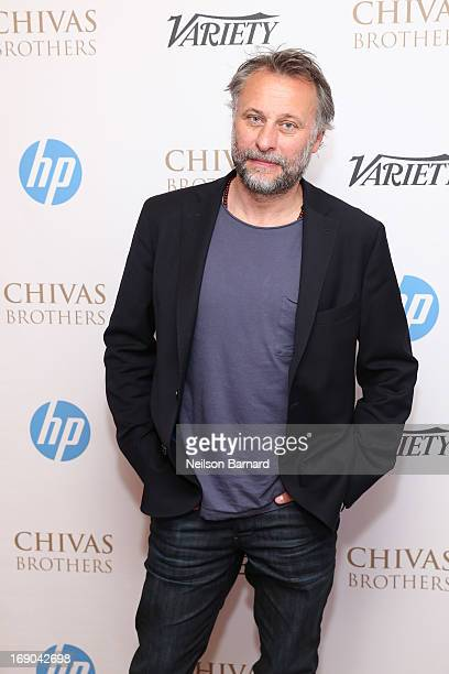 Actor Michael Nyqvist attends the Variety Studio at Chivas House on May 19 2013 in Cannes France