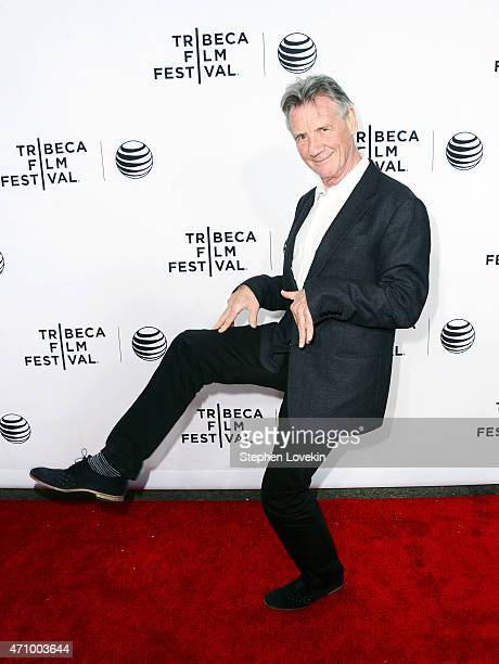 Actor Michael Palin attends the 'Monty Python And The Holy Grail' Special Screening during the 2015 Tribeca Film Festival at Beacon Theatre on April...
