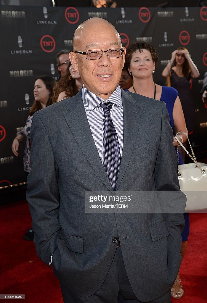 Actor Michael Paul Chan attends the special fan screening of TNT's 'The Closer' series finale held at The Roosevelt Hotel on August 7, 2012 in Hollywood, California.