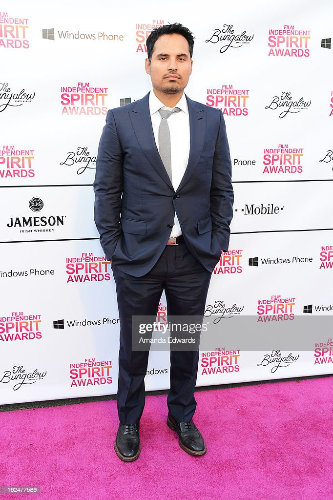 Actor Michael Pena attends the 2013 Film Independent Spirit Awards After Party hosted by Microsoft Windows Phone at The Bungalow at The Fairmont Hotel on February 23, 2013 in Santa Monica, California.