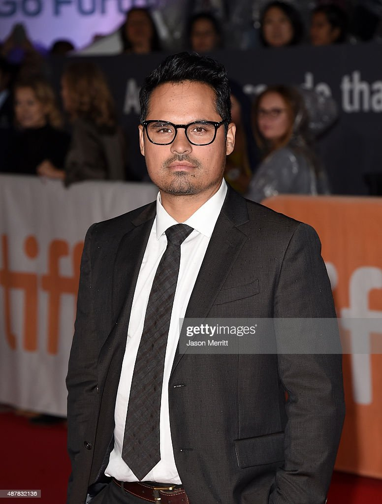 Actor Michael Pena attends 'The Martian' premiere during the 2015 Toronto International Film Festival at Roy Thomson Hall on September 11, 2015 in Toronto, Canada.
