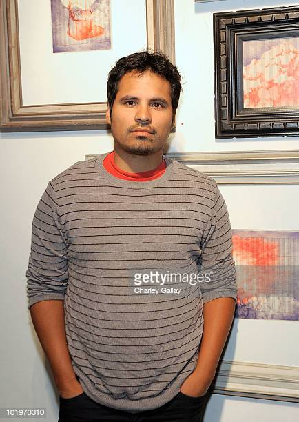 Actor Michael Pena attends the opening of Vanessa Prager's show ' Love You Too Part 2' hosted by Michael Pena at Em Co on June 10 2010 in Los Angeles...