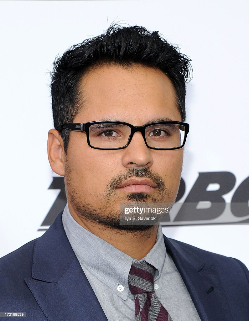 Actor Michael Pena attends the 'Turbo' New York Premiere at AMC Loews Lincoln Square on July 9 2013 in New York City
