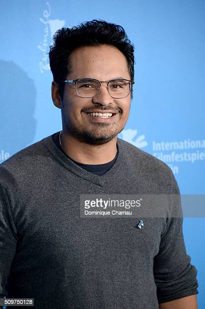 Actor Michael Pena attends the 'War On Everyone' photo call during the 66th Berlinale International Film Festival Berlin at Grand Hyatt Hotel on...