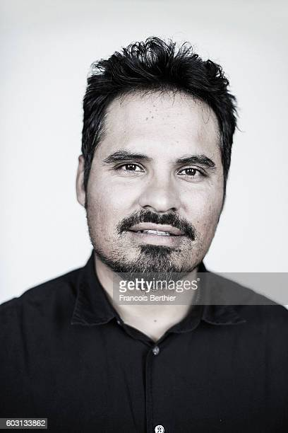 Actor Michael Pena is photographed for Self Assignment on September 6 2016 in Deauville France