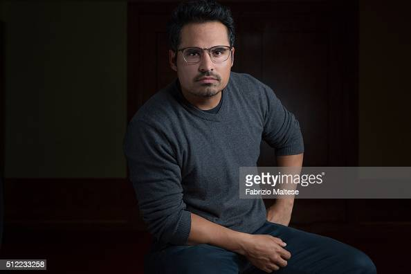 Actor Michael Pena is photographed for The Hollywood Reporter on February 15 2016 in Berlin Germany **NO SALES IN USA TILL MAY 25 2016**